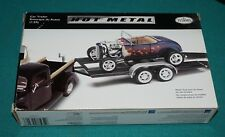 Hot Metal Model Car Trailer Testors 1/24 Complete Unstarted.