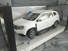 DACIA Renault Duster MKII MK 2 2018 weiss white S1804602 Solido Metall NEU 1:18