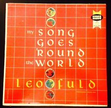 Leo Fuld My Song Goes Around The World Lp
