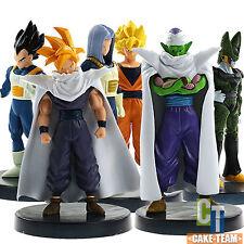 6pcs Dragon Ball Z DBZ Son Goku Piccolo Vegeta Cell Figure Set Toy Xmas Gift New