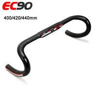 EC90 Road Bike Drop Bar Carbon Fiber Bicycle Handlebar Bars 31.8*400/420/440mm