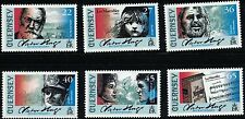 Guernsey SC762-767 Victor Hugo-famous Writer MNH 2002