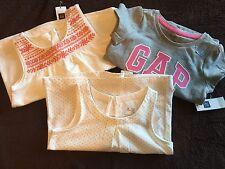New Baby Gap lot 3 3T Shirts Tops Summer Logo Tee Girls nwt