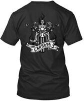 Grandpa Biker Premium Tee T-Shirt