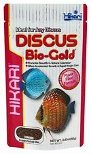 Hikari Discus Bio-Gold Sinking Pellet 2.82oz  Protein Packed Disc, Fish Food