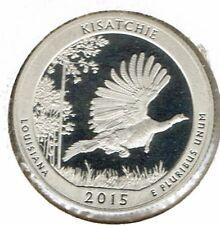 2015-S San Francisco Proof Kisatchie National Quarter Coin!