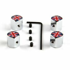 Protect Wheel Tire Valve Air Dust Cap Cover UK National Flag Anti-theft