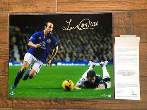 "Landon Donovan Signed Autographed 16X20 Photo ""Focused"" Everton FC Premiere UDA"
