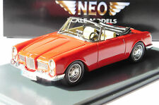 FACEL VEGA FACELLIA F2 DHC RED 1961 NEO 43414 1/43 ROSSO ROT ROUGE CONVERTIBLE