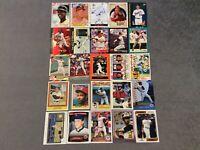 HALL OF FAME Baseball Card Lot 1980-2020 TOM SEAVER JOHNNY BENCH NOLAN RYAN
