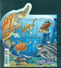 TARTARUGHE - TURTLES NEW CALEDONIA 2015 block