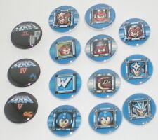 "Mega Man 1.25"" Buttons / Pinback [ Mix & Match ] Video Games Nes Rockman 8-Bit"
