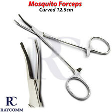 Hemostatic Artery Clamps Mosquito Forceps Curved Surgical Locking Instruments