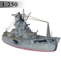 1:250 Scale WW2 Japanese Yamato Battleship DIY Paper Model Hot Sale Kit F4M3