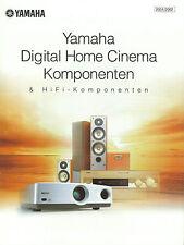 Yamaha catalogue prospectus dpx1 dspax 1 rxv1200 cdrhd 1000 ax892 tx592 kx493 ax596