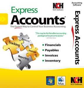 Accounting Software Accounting Program   Full License   Email Delivery Now!