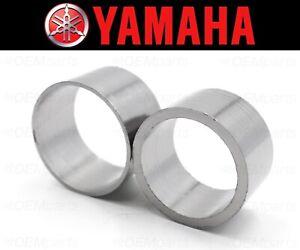 Set of (2) Yamaha XV750/920 Exhaust Muffler Silencer Pipe Connector Joint Gasket