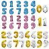 "16"" 32"" / 40"" Foil Balloon Numbers 0-9 Balloon Set Party Wedding Birthday Decor"