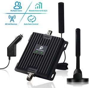 Cell Phone Signal Booster for Car Truck RV Band 12/13/17 Vehicle Mobile Repeater