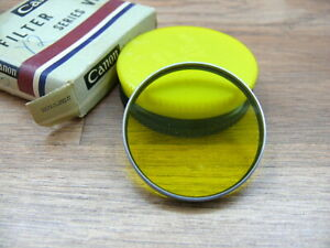 Canon Series VI  drop in Yellow Filter (Y2) with case and box. Original Canon