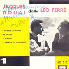 JACQUES DOUAI Chante Léo Ferré FR Press Bam EX 212 EP