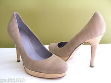NEW! Cole Haan Gorgeous Embossed Leather Pumps Classic Sexy Tan Heels 10 B $218