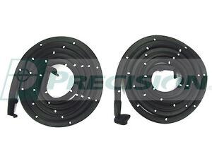NEW Door Seal Weatherstrip PAIR / FOR 2-DR HARDTOP & CONVERTIBLE 1955-57 BEL-AIR