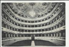 vecchia cartolina 1958 spoleto teatro nuovo