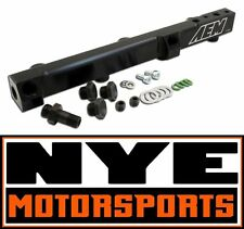 AEM Black Fuel Rail Prelude H22 F22 JDM Turbo Honda Accord