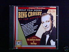 CD BING CROSBY - great film chansons, at the movies