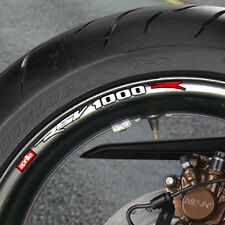 Aprilia Rsv 1000 Wheel Rim Stickers mille tuono r rs