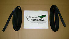 Window Channel Run Weatherstrip Felt pair 64-72 El Camino 68-74 Nova 74 GTO