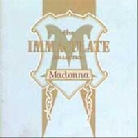 IMMACULATE COLLECTION CD MADONNA NEW SEALED