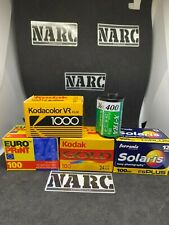 5 rolls  35mm film expired lot job ferrania kodak fuji