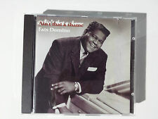 """FATS DOMINO """"AIN'T THAT A SHAME"""" EXCLUSIVE SPANISH CD FROM """"ROCK"""" COLLECTION"""