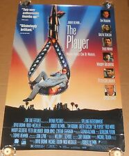 The Player Movie Poster Original 1992 Promo 40x27 Tim Robbins