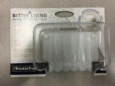 13301 Better Living Soap Dish 1.5 in. H x 5.1 in. W x 3.8 in. L Clear Plastic