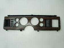 80-83 Ford Mustang Capri Speedometer Cluster Dash Bezel Woodgrain