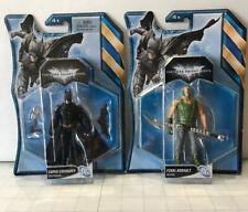 "The Dark Knight Rises Final Assault ""Bane"" & Cape Crusader Batman~4"" Figures"