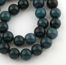 Natürliche Indische Achat Perlen 10mm Frosted Grün Rund Edelsteine BEST G728