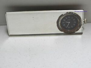 Vintage Car Truck Rearview Mirror / Clock Model A T  Ford Working.