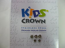 5PCS : KIDS CROWN Refill (STAINLESS STEEL PRIMARY MOLAR) same 3M ESPE