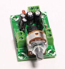 Battery Supply Audio Mono Amplifier Kit, NJM386D, LM386