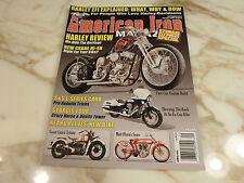 September 2012 AMERICAN IRON Magazine HARLEY REVIEW