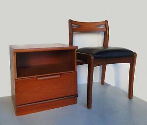 Retro Teak Cabinet / Bedside Cabinet with Drawer