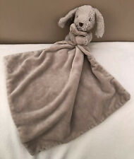 Mothercare Snuggle Puppy Dog Comforter Blankie Soft Baby Toy Beige Soother