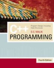 C++ Programming : Program Design Including Data Structures by D. S. Malik (2008,