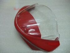 Front Nose Upper Fairing For DUCATI Monster 696 795 796 1100 +Windscreen Red
