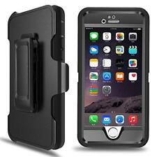Prime Series Defender iPhone 6 6S Case (Belt Clip fit Otterbox Defender) - Black