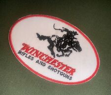 "WINCHESTER FIREARMS GUN RIFLE PISTOL SHOOTING LOGO 4"" PATCH NEW (A241)"